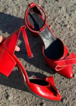 Кожаные туфли ручной работы