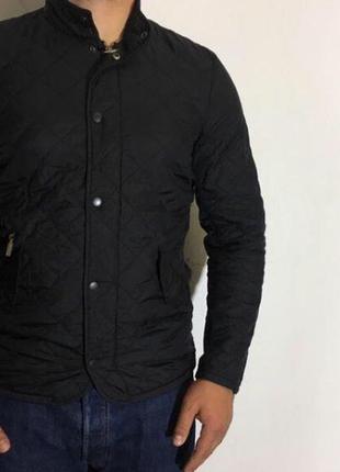 Мужская стеганая демисезонная куртка barbour ( барбур срр)