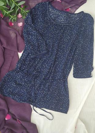Красивая и дорогая вискозная блуза - туника. классика