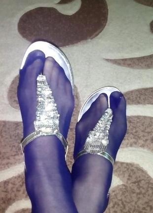 Красивые сандали в пайетках/сандали/туфли/шлепки/вьетнамки/босоножки