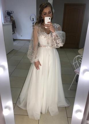 Самое красивое свадебное платье!!