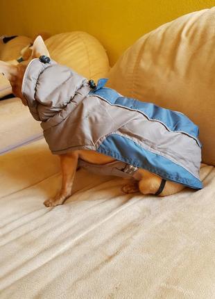 Одежда для собак тёплая накидка