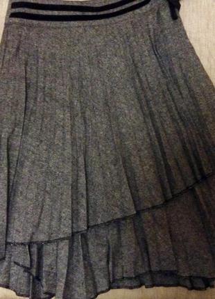 Плиссированная юбка sense, франция
