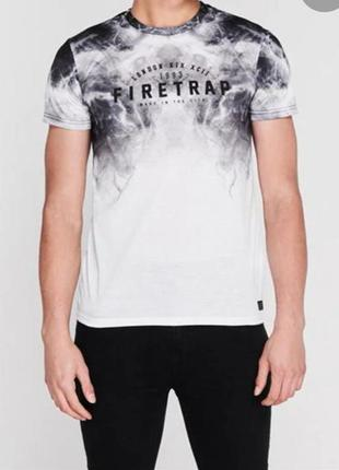 Брендовая футболка firеtrap s-m (42-44)