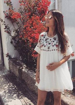 Нереальное стильное платье - ромпер zara