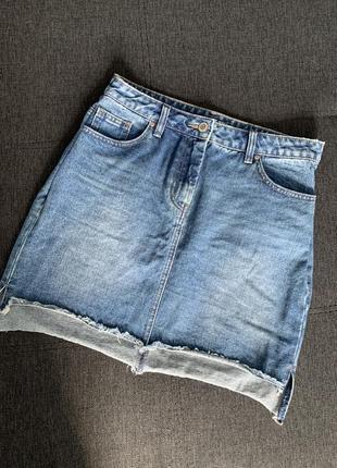 Джинсова спідниця юбка