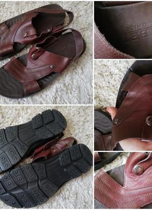 Шкіряні сандалі, босоніжки