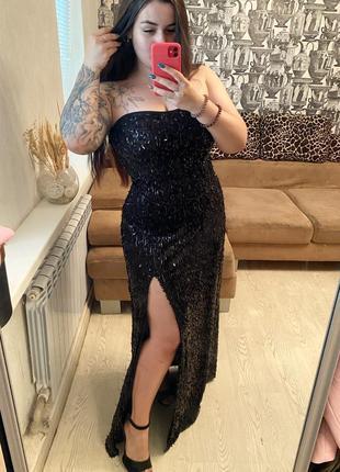 Вечернее платье goddes london на рост до 170