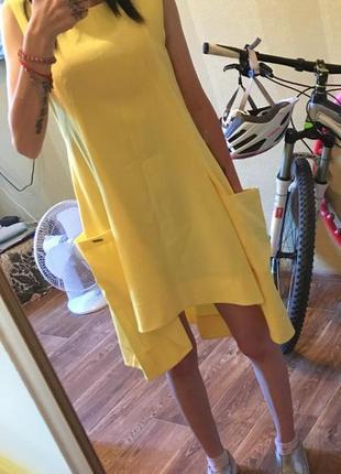 Новое летнее легкое платье
