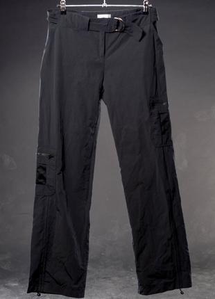 Promod. спортивные чёрные женские штаны. испания.