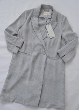 Женский пиджак блейзер удлиненный vero moda р.38 (m)