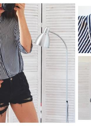 Блуза в полоску zara
