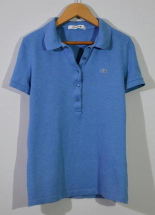 Футболка поло lacoste w's polo shirt