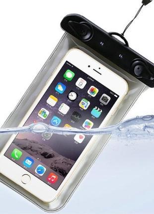 Водонепроницаемый чехол для подводной съемки для телефона, смартфона