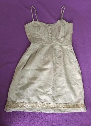 Платье сарафан америка фирменное лён
