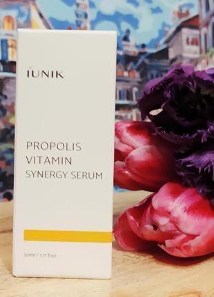 Сыворотка с прополисом и витамином с iunik – propolis vitamin synergy serum