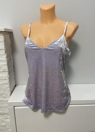 Блуза з велюра