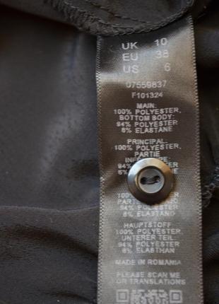 Asos боди блузка в бельевом стиле черная с воротником с  рукавом стильная рубашка 386 фото