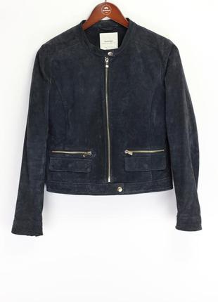 Брендовая кожаная куртка в стиле zara only