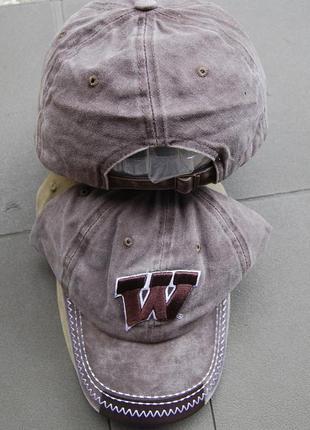Бейсболка винтажная trucker w