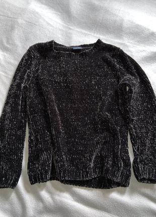 Мягкий свитер чёрного цвета от blue motion
