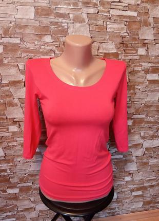 Турция,новая!шикарная,красивая,футболка,блуза,боди,блузочка,три четверти,стрейч