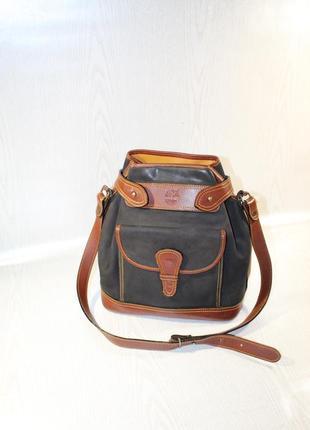 Сумка -торба (мешок) timberlend натураьная кожа\нубук