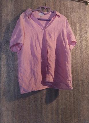 Шикарна лляна сорочка за копійки налітай