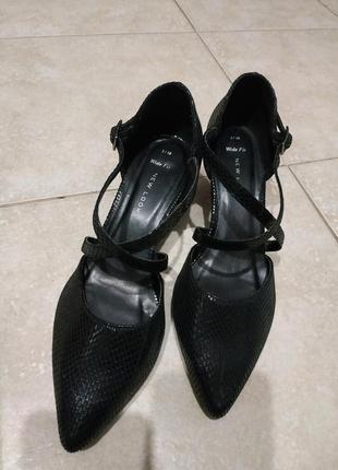 Туфли new look змеиный принт