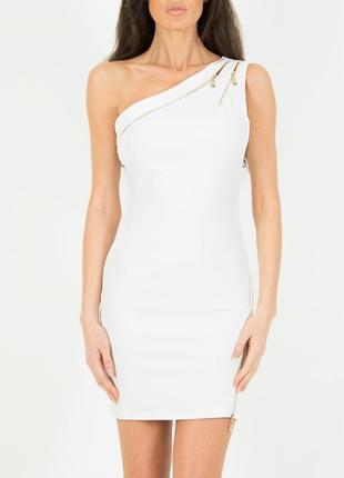 Вечернее платье футляр на одно плечо на молнии forever unique