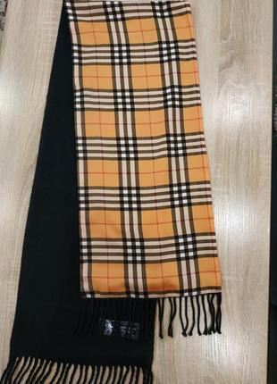 Кашемировый шарф / шелк+кашемир/ унисекс