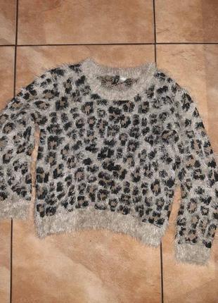 Брендовый крутой свитер