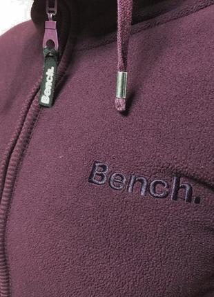 Кофта bench тёплая капюшон