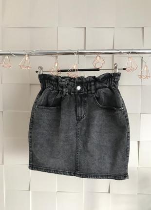 Джинсовая юбка kiabi