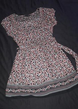 Летняя пляжная туника-платье