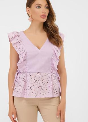 Летняя хлопковая блузка