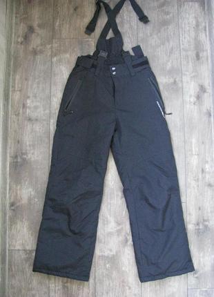 Новые штаны лыжные 9-10 лет рост 140 см зимние теплые mountain peak франция