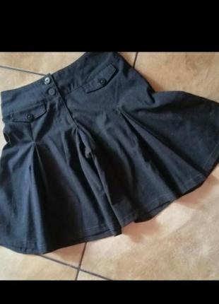 Брендовые шорты юбка