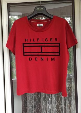 Tommy hilfiger  футболка, размер с-л
