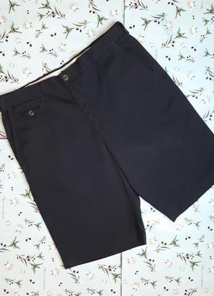 🌿1+1=3 фирменные мужские черные шорты marks&spencer, размер 50 - 52