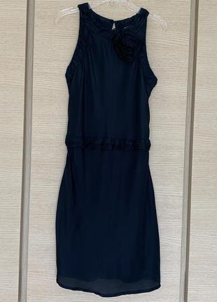 Платье шёлковое conbipel niama размер s