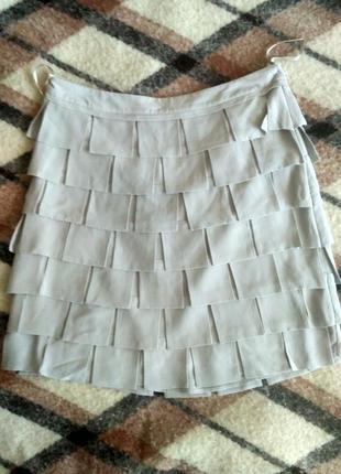Шелковая юбка mint velvet