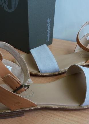 Timberland сандалии, босоножки. кожаные. 40 размер.