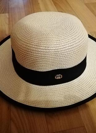 Шляпа канотье 2020 размер 56-58