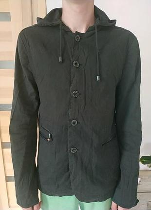Куртка-піджак, льон