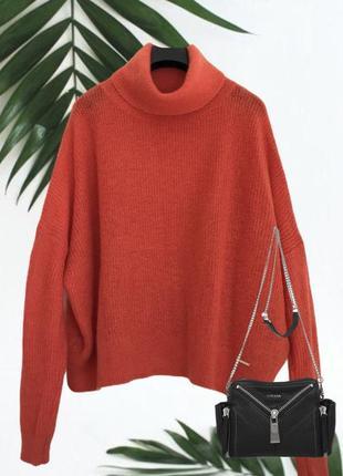 Мохеровый ♥️♥️♥️ свитер гольф оверсайз abercrombie fitch.