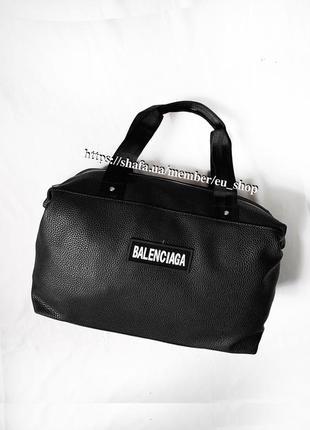 Новая стильная сумка pu кожа / дорожная / спортивная / пляжная
