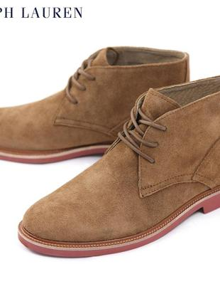 Ботинки polo ralph lauren torrington chukka boot