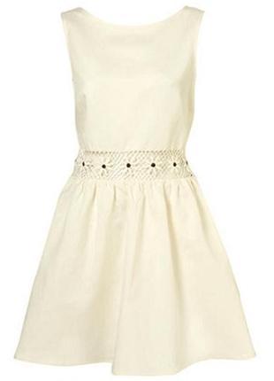Topshop оболденное платье (лен+вискоза)