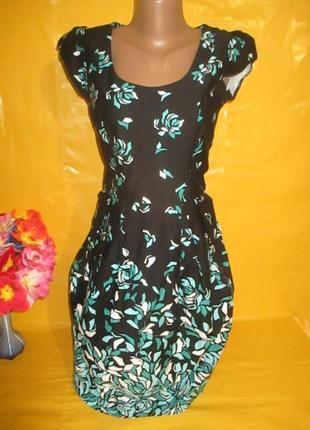 Очень красивое женское платье dorothy perkins  грудь 40 см рр 8 97% катон
